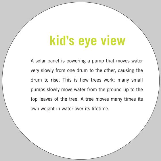 Kid's Eye View label for Peter Flemming's Leak to Lower Lazy Levitating Load