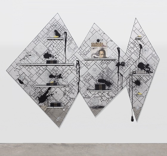 "Rashid Johnson, ""Glass Jaw"", 2011"