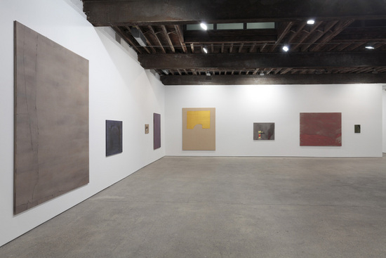 Sergej Jensen at Anton Kern, installation view